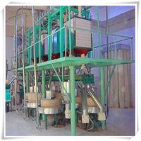 Flour milling machine stone / steel structure