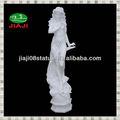 decorativiin pietra di bellezza ragazza nuda statua