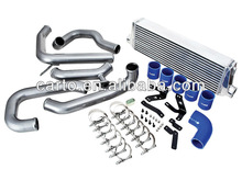 High performance aluminum intercooler kit for auto racing car