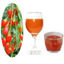 Goji berry fruit juice drink 100% puree