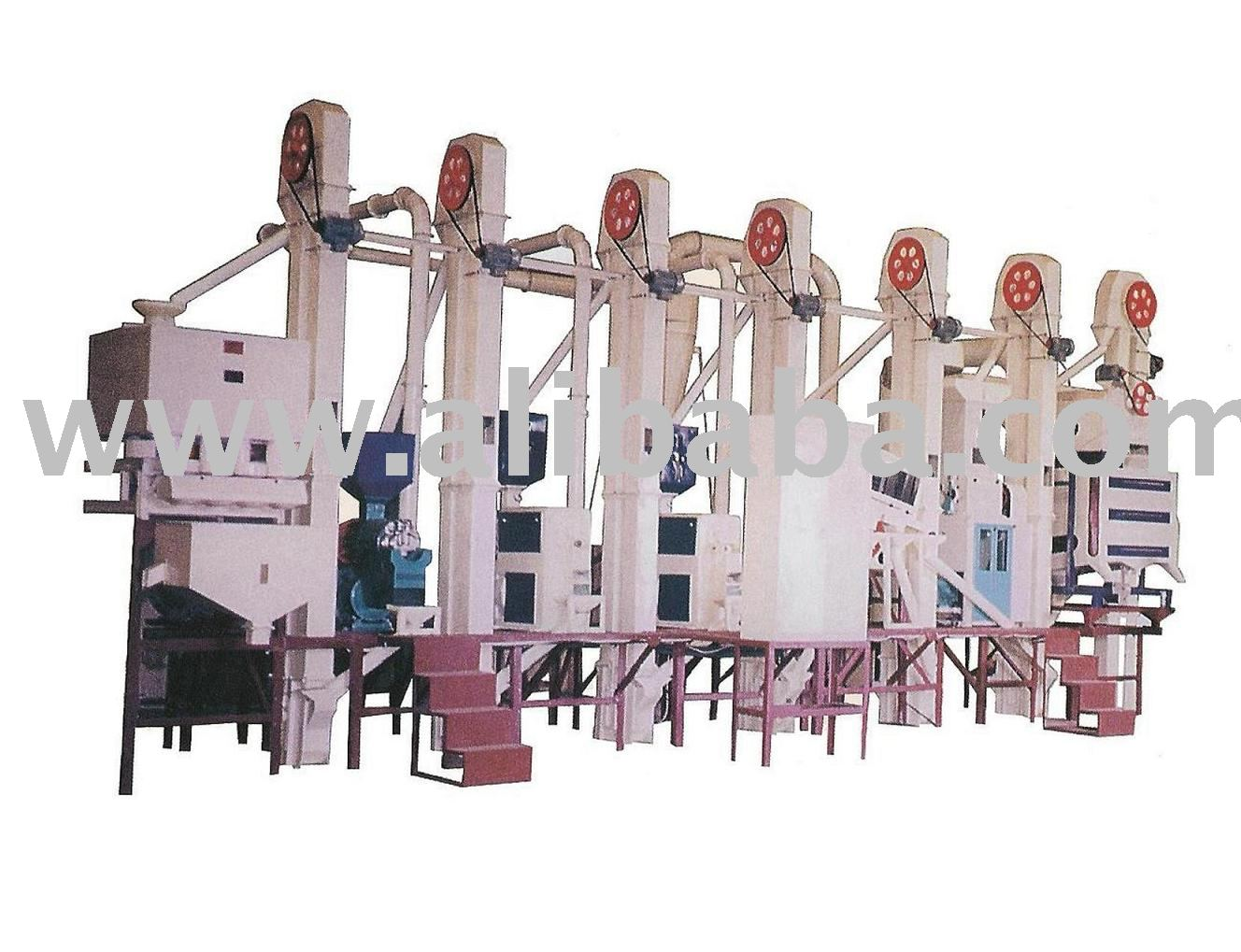 Complete Rice Mill, Rice Processing Plant