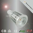 Dimmable 7W gu10 COB LED Spotlight SAA C-Tick led lighting bulb