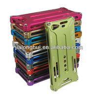Colorful arachnophobia Durable aluminum screw metal bumper case for iphone 5