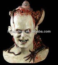 2014 rey del partido vestido náuseas aterrador de halloween máscara de demonio