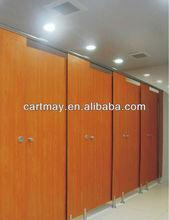 hpl panel toilet partition, compact laminate toilet cubicles with aluminium toilet door