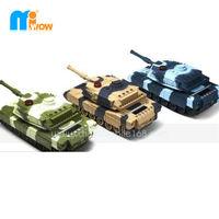 Portable mini tank car bocina altavoz del tanque