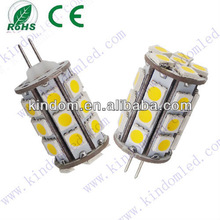 EU hot selling Epistar 3.5W G4 Led Light (GY6.35) DC12V 350LM 360degree 20*30mm