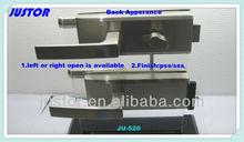 Euro design glass door lock with handle JU-W519