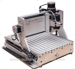 High precision mini metal cnc 3D engraving machine maker