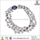 pearl jewellery wholesale freshwater pear crystal necklace