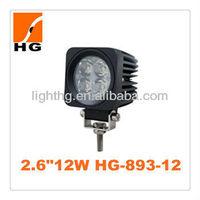 "2"" 10-30V 12W led work light Off-road ,Tractor,Truck,Motor,Motorcycle HG-893-12"
