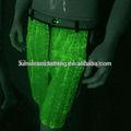 Maravillosa nueva colección asiática trajes para hombres de salón desgaste de la danza Flash de colores de verano pantalones cortos ropa luminosa