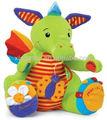 Bonito hipopótamo de pelúcia chocalho brinquedo do bebê nomes