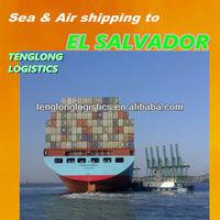 International shipping by sea air to ACAJUTLA /SAN SALVADOR of EL SALVADOR from Shenzhen Hongkong Guangzhou