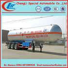 59.6cbm lpg semi trailer,lpg tanker vessel 25tons on sale