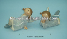 Christmas angel girl figurine