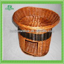 willow pet basket wicker dog basket