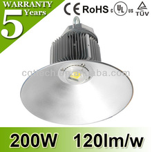 LED high bay light 200w good heat dissipation design with long lifespan