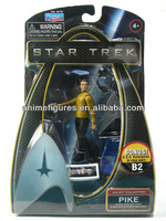 Movie Character Of Star Trek Pike PVC figure Toys