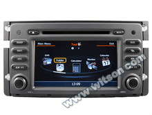 WITSON car gps dvd for Smart A8 Chipset Dual Chipset,3G modem/wifi/DVR (Option) with built-in Bluetooth