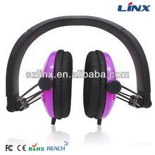 Mix style Customized logo headphones LX-124A