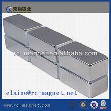 n52 magnete al neodimio della terra rara magnete di blocco per la vendita