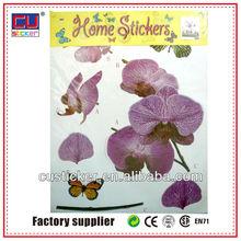 Custom adhesive 3d embellishment stickers