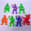 nuevo modelo de goma de plástico de juguete ninja