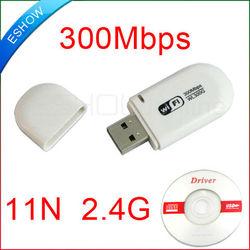 300Mbps WiFi wireless USB Network LAN Card Adapter