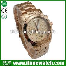 itimewatch swiss watch 18k gold