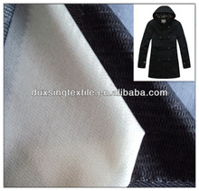 suit, jacket, coat, uniform polyester viscose interlining