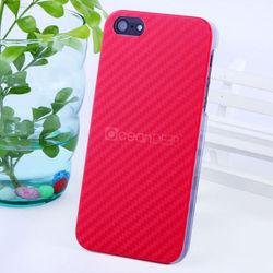 2013 new hot good quality micro fiber PC hard case for iphone5 PC carbon fiber case