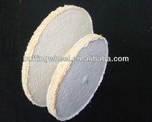 Disc sisal wheel polishing