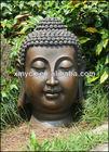 Big resin garden decoration buddha head for sale.