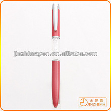 Fashion metal promotional ball pen with crystal