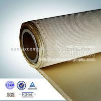 1000C welding protection high silica glass fiber fabric