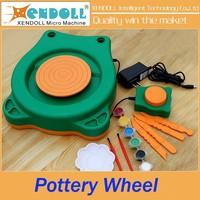 pottery wheel,Ceramic Workshop Clay DIY production Educational Toys Clay Kit pottery wheel