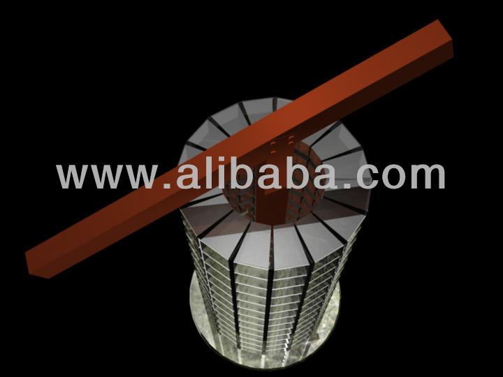 Glass or Aluminum Colunbarium pillar Niches