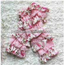 Latest Design light pink lace leg warmers for kids for baby girls