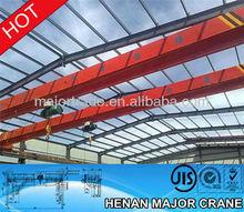 safe working load electric hoist overhead crane