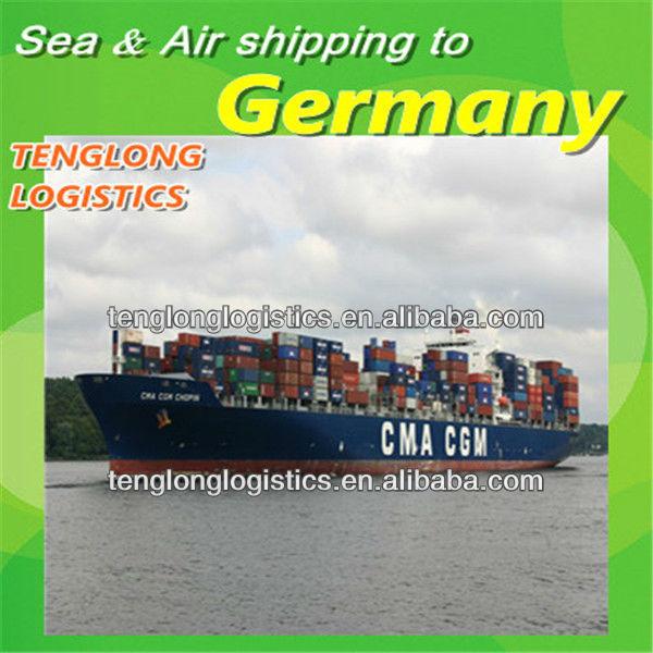 shipping container to Hamburg and Hagen of Germany from China Shenzhen Hongkong Shanghai