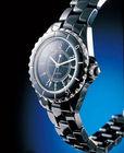 Black Ceramic Band Japan Movt Quartz Watch Hours are Wrist