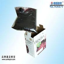 custom plastic bag in box