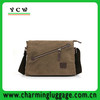 manufacture custom zipper shoulder messenger bags canvcas satchel