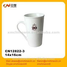 Factory direct wholesale customized logo glazed porcelain mug