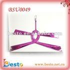 BSU0049 Pretty ladies pink ladies PVC shoe vamp