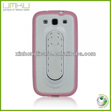 Kickstand TPU PC phone Case For Samsung Galaxy S3,cell phone case
