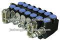 Deer/paker zcdb seccional direção hidráulica válvulas para empilhadeira, máquinas de carregamento, trator, máquinas agrícolas