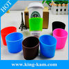 Silicone hot coffee cup sleeve