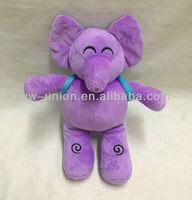 Hot-sale Stuffed elephant toy Soft Plush Turkey Cartoon character Elephant
